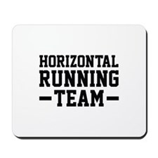 Horizontal Running Team Mousepad