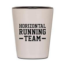 Horizontal Running Team Shot Glass