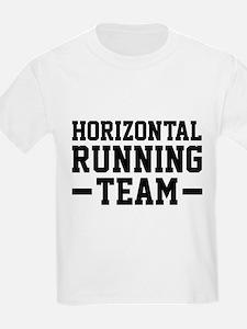 Horizontal Running Team T-Shirt