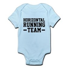 Horizontal Running Team Infant Bodysuit