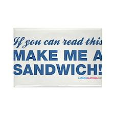 Make Me A Sandwich! Rectangle Magnet