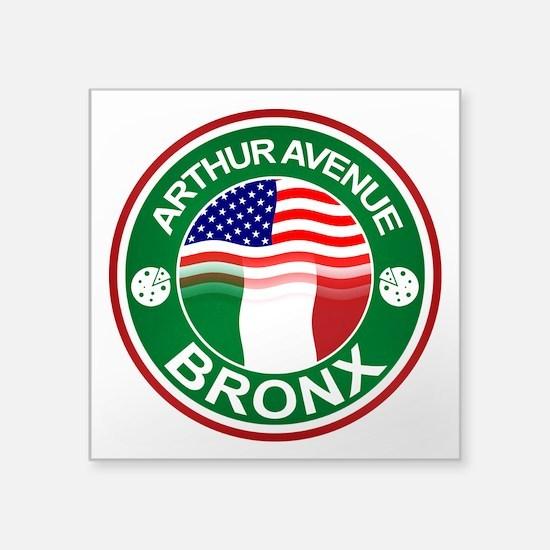 Arthur Avenue Bronx Italian American Sticker