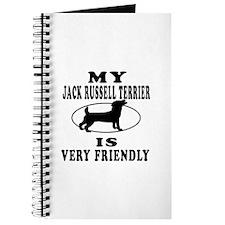 My Jack Russell Terrier Is Very Friendly Journal