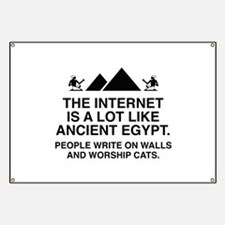 The Internet Is A Lot Like Ancient Egypt Banner