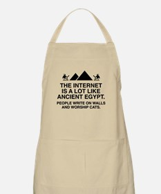 The Internet Is A Lot Like Ancient Egypt Apron