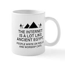 The Internet Is A Lot Like Ancient Egypt Mug