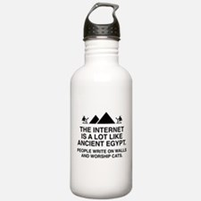 The Internet Is A Lot Like Ancient Egypt Water Bottle