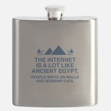The Internet Is A Lot Like Ancient Egypt Flask