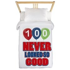 100 never looked so good Twin Duvet