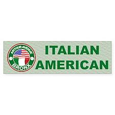 Arthur Avenue Bronx Italian American Bumper Sticke