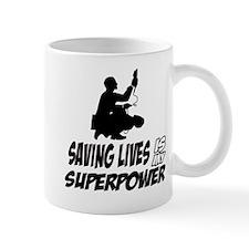 Saving lives is my Superpower Mug