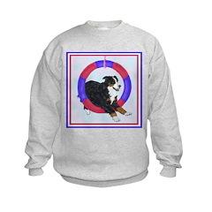 Agility Bernese Mountain Dog Sweatshirt
