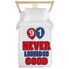 91 never looked so good Twin Duvet