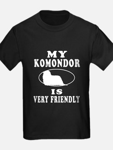 My Komondor Is Very Friendly T