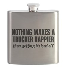 Nothing Happier Getting His Load Off Flask