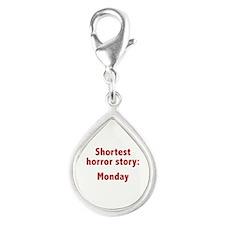 Shortest Horror Story: Monday Silver Teardrop Char