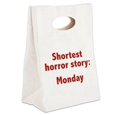 Shortest Horror Story: Monday Canvas Lunch Tote