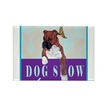 Boxer Puppy Rectangle Magnet (10 pack)