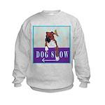 Boxer Puppy Kids Sweatshirt