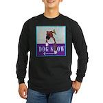 Boxer Puppy Long Sleeve Dark T-Shirt