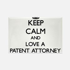 Keep Calm and Love a Patent Attorney Magnets