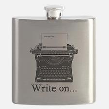 Write on Flask