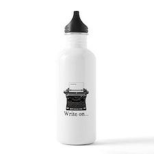 Write on Water Bottle