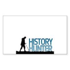 Metal Detecting History Hunter Decal
