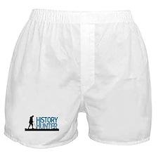 Metal Detecting History Hunter Boxer Shorts