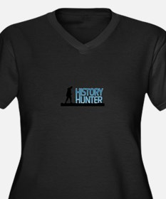 Metal Detecting History Hunter Plus Size T-Shirt