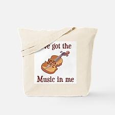 I've Got The Music In Me Tote Bag