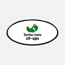 Turtles Hate Sit-Ups Patches