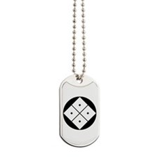Tilted four-square-eyes in rice cake Dog Tags