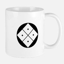 Tilted four-square-eyes in rice cake Mug