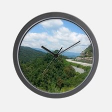 Great Smokey Mountians Wall Clock
