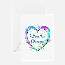 I Love Tap Dancing Greeting Card