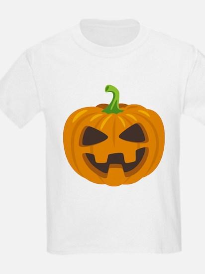 Jack-O-Lantern Emoji T-Shirt