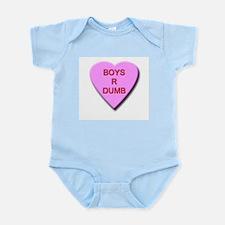 Boys R Dumb Infant Bodysuit