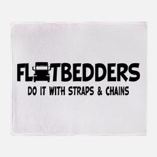 Flatbedders Do It Throw Blanket