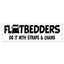 Flatbedders Do It Bumper Sticker