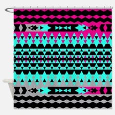 Mix #508, Tribal Shower Curtain