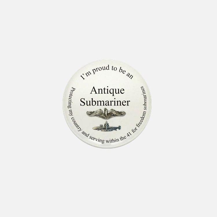 Antique FBM sailor Mini Button