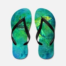 Silent Journey Flip Flops