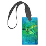 Sea turtle Luggage Tags
