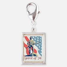 Spirit of '76 Silver Portrait Charm