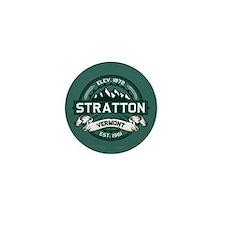 """Stratton """"Vermont Green"""" Mini Button"""
