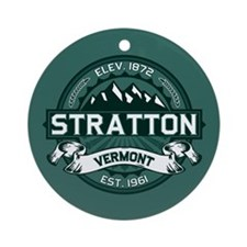 "Stratton ""Vermont Green"" Ornament (Round)"