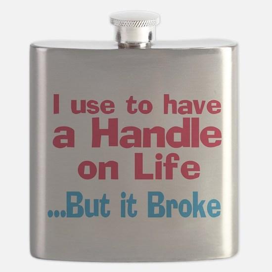Handle on Life Flask