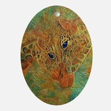 Cherish Oval Ornament