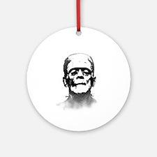 Frankenstein Round Ornament